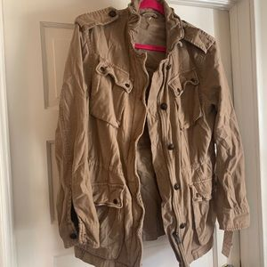 Free People Utility Jacket